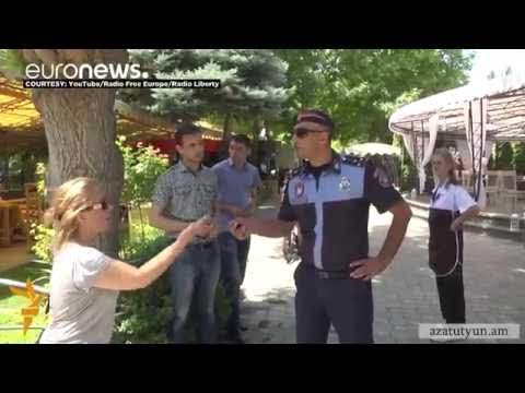 Armenian authorities arrest citizens in Yerevan after tense stand-off