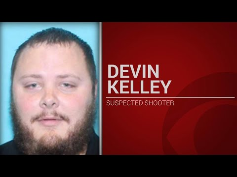 Suspected Texas gunman identified as Devin Patrick Kelley