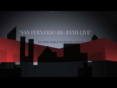 Concierto Big Band San Fernando - Teatro Jorge Eliécer Gaitán - Homenaje Alfredo Gutierrez