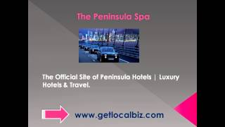 The Official Site of Peninsula Hotels - Luxury Hotels & Travel - Get Local Biz Thumbnail