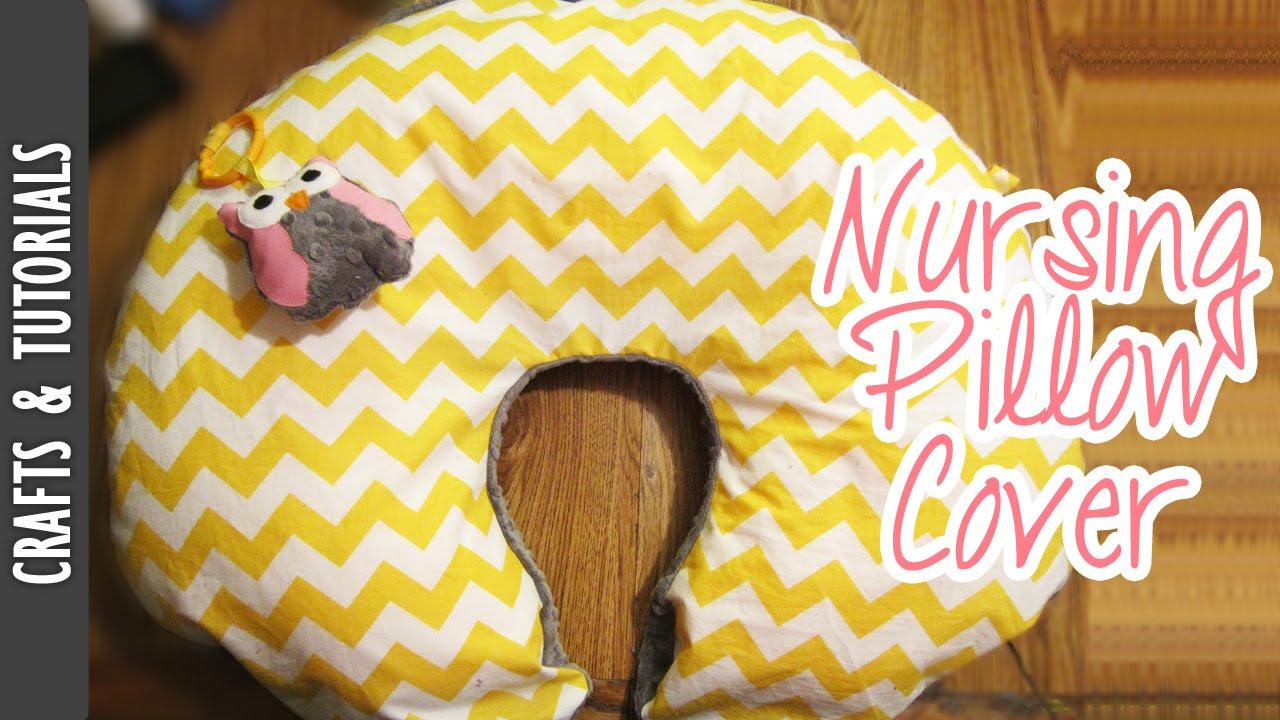 Boppy Pillow Cover Tutorial (Nursing Pillow Cover) -The290ss - YouTube
