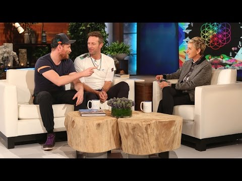 Coldplay Catches Up with Ellen