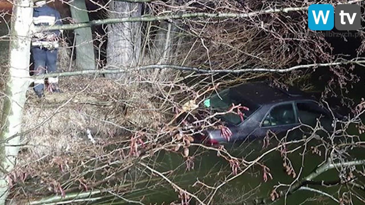 Telewizja Wałbrzych - Wyłowili samochód