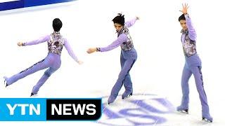 4회전 점프 실수했지만…하뉴의 매력에 빠지다 / YTN (Yes! Top News)