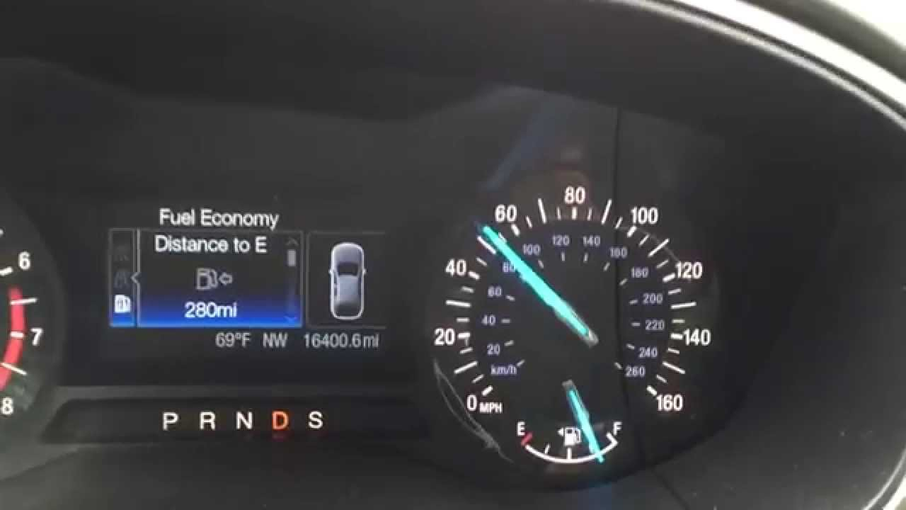 2017 Ford Fusion 2 0l Ecoboost 0 60 Mph Acceleration