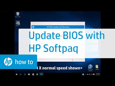 Updating System BIOS Using HP Softpaq | HP Computers | HP