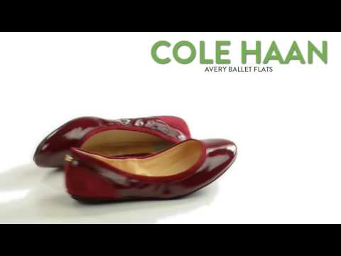 Cole Haan Avery Ballet Flats - Patent Leather (For Women)