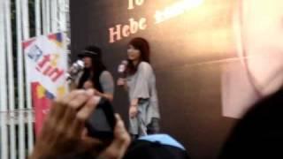 2010.09.04田馥甄HEBE台中簽唱會-放錯音樂...
