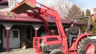 Kubota L3130 HST Tractor LA513 Loader 4x4