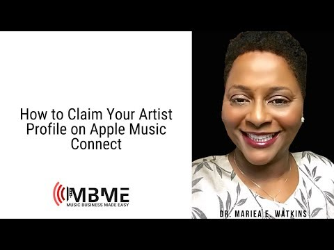 How to Claim Your Artist Profile on Apple Music Connect