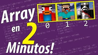 ARRAY en 2 Minutos!
