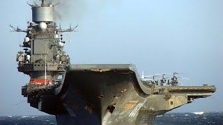 ТАКР Адмирал Кузнецов тяжелый авиа-несущий крейсер