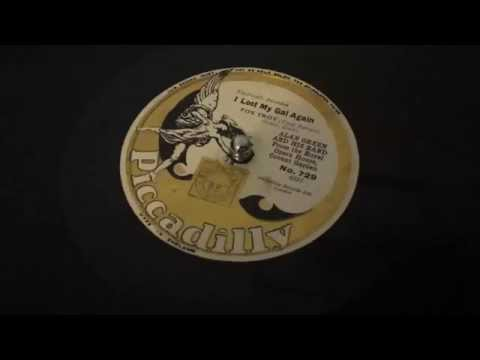 I Lost My Gal Again - Alan Green and his Band