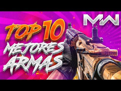 LAS MEJORES ARMAS DE CALL OF DUTY MODERN WARFARE *TOP 10*