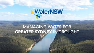 How drought impacts water storages in Greater Sydney