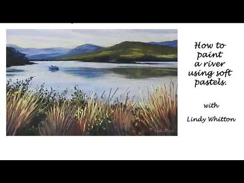 Paint a river scene in pastels – Pastel painting course