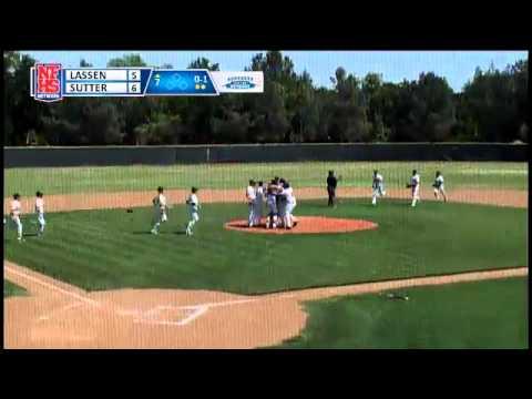 Sutter High School WINS NS D-II Baseball Final