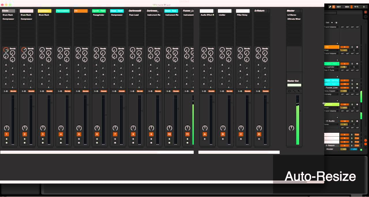 Dual Monitoring In Ableton Live With Ultimate Mixer Youtube