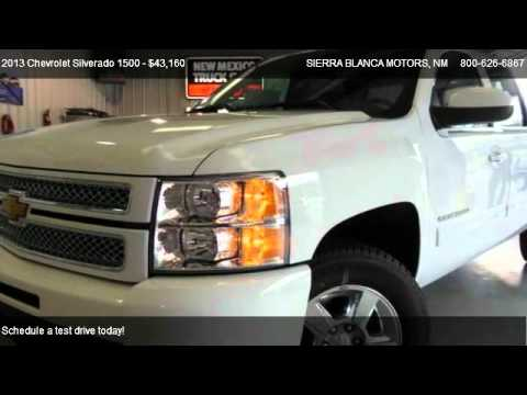 2013 Chevrolet Silverado 1500 Ltz For Sale In Ruidoso