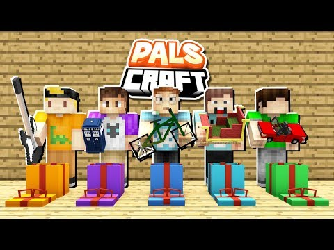 THE PALS OPEN THEIR PRESENTS! | PalsCraft #15 (Christmas Special)