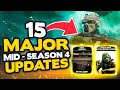 WARZONE SEASON 4: All 15 MAJOR Updates & Changes! NEW Weapon, 200+ Players & MORE (Modern Warfare)