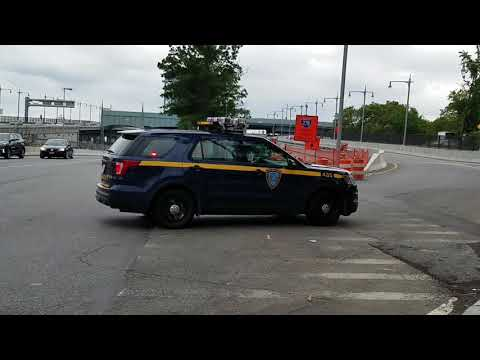 MTA Triborough Bridge And Tunnel Authority (Law enforcement Branch) Passing By In Harlem