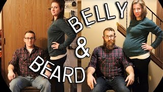 Pregnancy Time Lapse : Belly and Beard