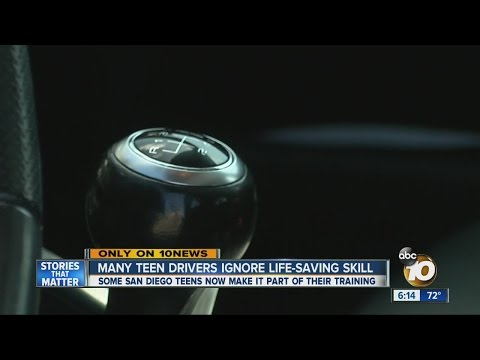 Many teenage drivers abandoning the manual transmission