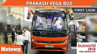 Prakash Vega | First Look | BusWorld India 2018 | Motown India