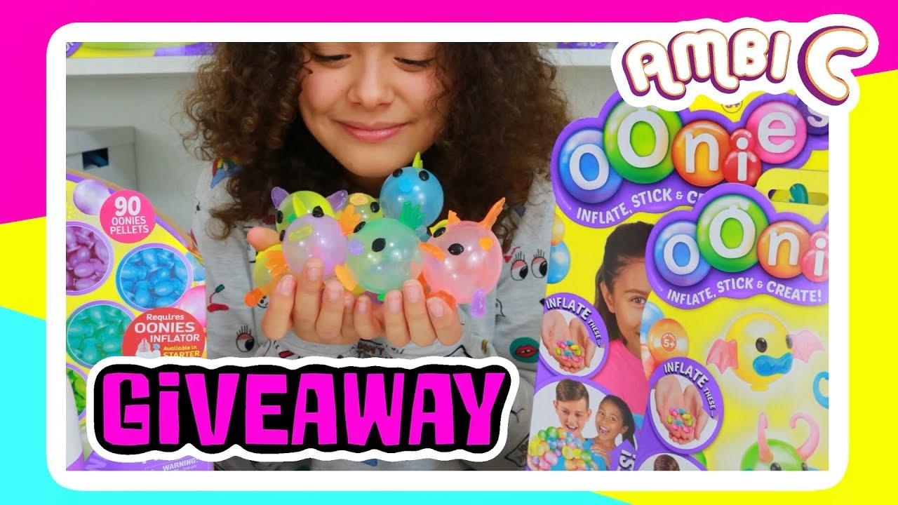 Squishy Giveaways : Squishy Toys Giveaway - Squishy Vending Machine? Squishy Giveaway ?? Oonies Inflator Ambi C AD ...