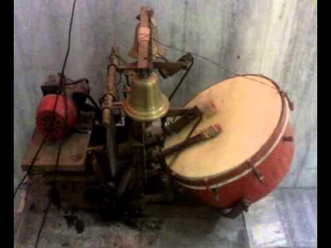 Drum beating in Sec 5 FBD Banke Bihari Temple