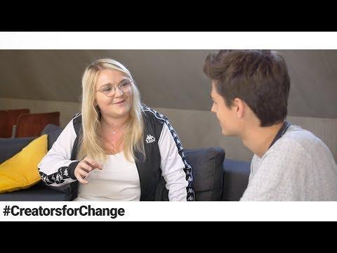 J'ai parlé de harcèlement scolaire avec Lola Dubini - Creators for Change #1