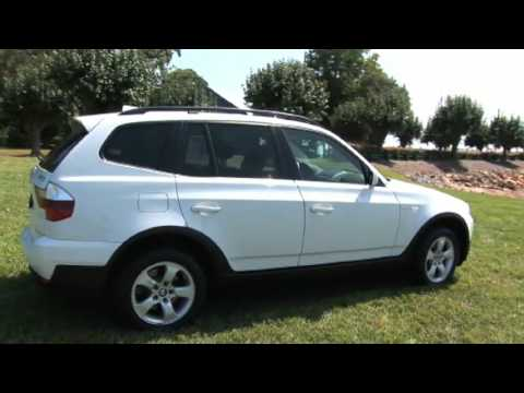 2007 white bmw x3 youtube. Black Bedroom Furniture Sets. Home Design Ideas