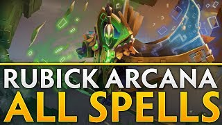 Dota 2 Rubick Arcana - All 115 Spells