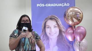 Camila Farias conta por que decidiu fazer a Pós-Graduação de Saúde Estética Avançada