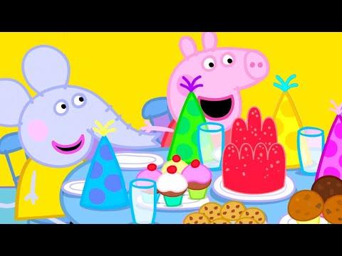 Peppa Pig Français 🎂 L'anniversaire D'Edmond Eléphant 🎉 Épisodes Complets   Dessin Animé Pour Bébé