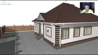 Проект большого одноэтажного дома на 4 спальни C-246-ТП(, 2017-05-03T14:44:13.000Z)