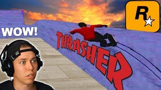 ROCKSTAR MADE AN AMAZING SKATE GAME - Thrasher: Skate and Destroy