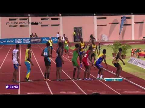 119 Boys U18 4x400m Relay Final   CARIFTA Games 2016