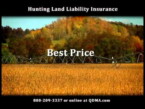 QDMA Hunting Land Liability Insurance