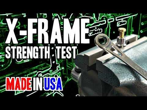 SK Tools X-Frame Strength Test (Ratcheting Box End) - MADE IN USA