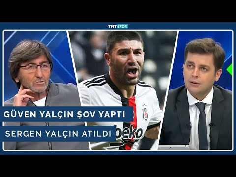 Güven Yalçın şov yaptı, Sergen Yalçın atıldı | Beşiktaş 2-1 Sivasspor | Yüzde Yüz Futbol