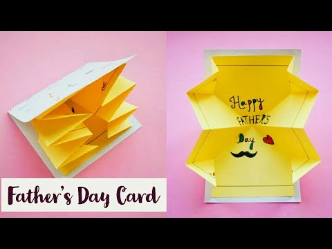 DIY : Fathers Day Explosion Card | Handmade Pop Up Card for Fathers Day | Cute Ideas for Fathers Day