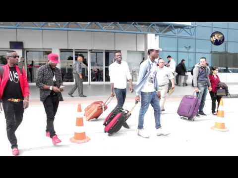 ARRIVAL OF DJ ICE AND MC TEX TO CYPRUS