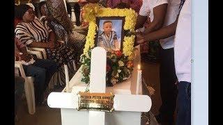 Mwili Patrick ulivyoagwa kwa Baba yake, Muna akiwa kalazwa