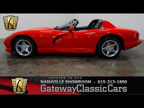 1997 Dodge Viper RT-10, Gateway Classic Cars-Nashville#454