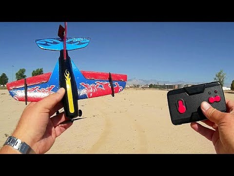 Techboy TB367 Cheap 2.5 Channel RC Airplane Flight Test Review