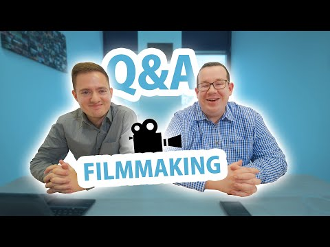 Filmmaking Q&A: First paid job, lost footage & future camera technology