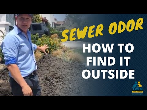 How To Find A Sewer Odor Outside Your House - YouTube