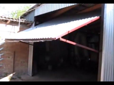 видео: Ворота для гаража
